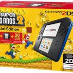 Nintendo Handheld Console 2DS –  Black/Blue with New Super Mario Bros 2