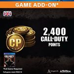 2,000 (+400 Bonus) Call of Duty Points [PS4 PSN Code – UK account]