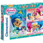 "Clementoni 25218 ""Shimmer and Shine"" Puzzle (3 X 48-Piece)"