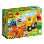 LEGO DUPLO Town Backhoe Loader Construction Set