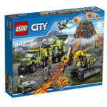 LEGO City In/Out Volcano Exploration Base Construction Set