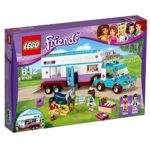 LEGO Friends Horse Vet Trailer Construction Set